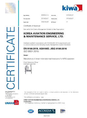 Quality Operation System - AS9100D